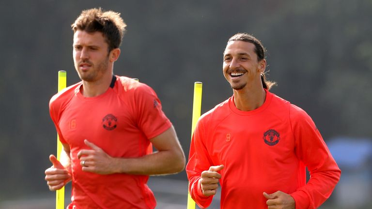 Ibrahimovic reportedly broke power records during his United medical