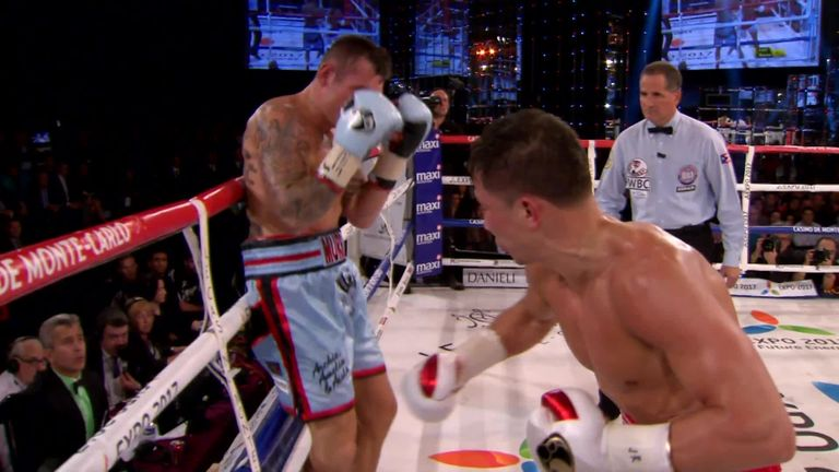 Martin Murray went 11 rounds with GGG