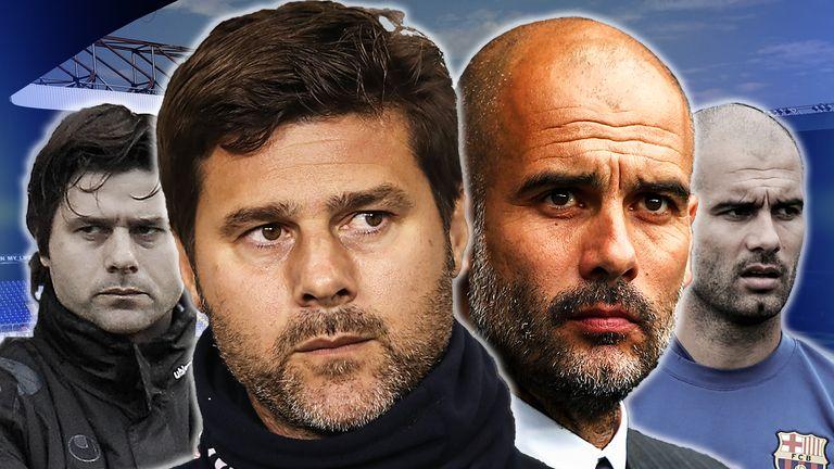 Mauricio Pochettino and Pep Guardiola will renew their rivalry from La Liga