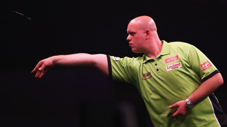Michael van Gerwen was not to be denied his night of glory in Glasgow