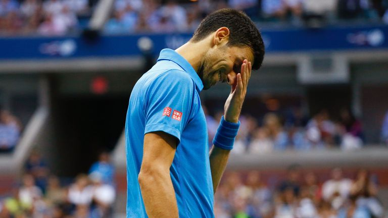 Novak Djokovic lost in the US Open final but is keen to finish the season on a high note
