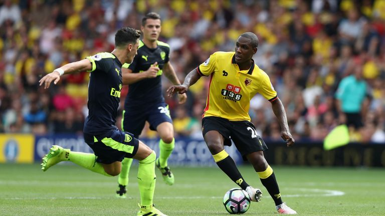 Odion Ighalo stayed at Watford over the summer