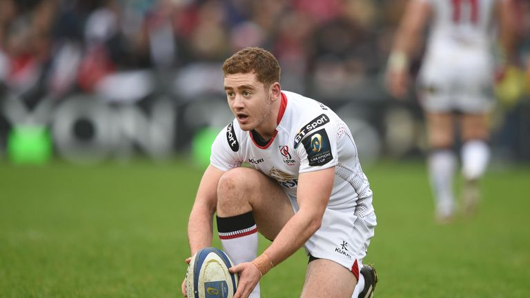 Paddy Jackson will not return to action for Ulster or Ireland until the IRFU completes an 'internal review' into his conduct