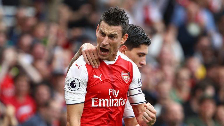Laurent Koscielny admits he loves the respect shown to him in London