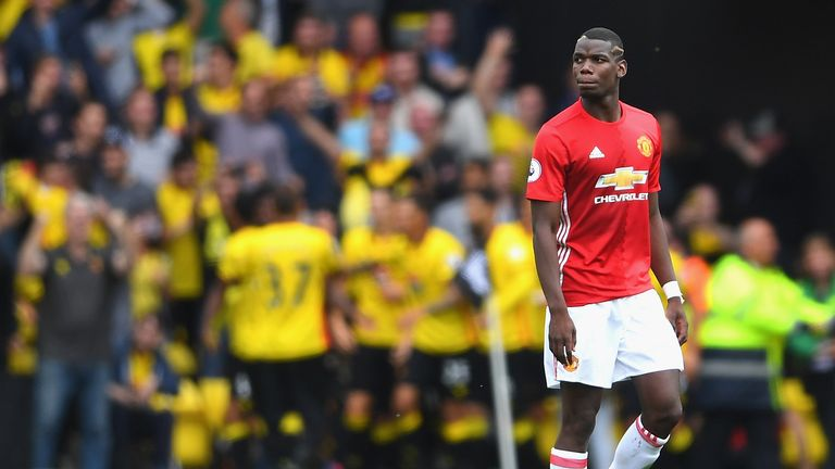Paul Pogba has struggled after a bright start