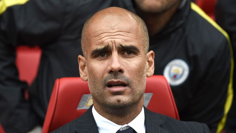 Guardiola defended his 'keeper following the 2-1 win over their cross-city rivals