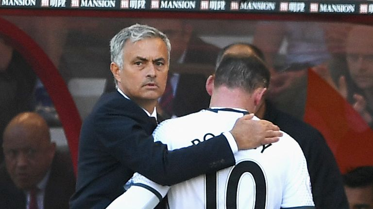 Jose Mourinho said Rooney appeared to have been taken aback by criticism this season