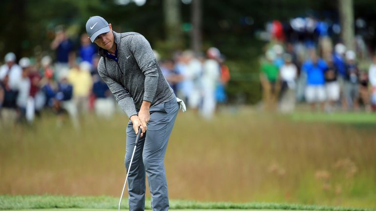 McIlroy's putting was vastly improved in his second start since hiring Henrik Stenson's coach