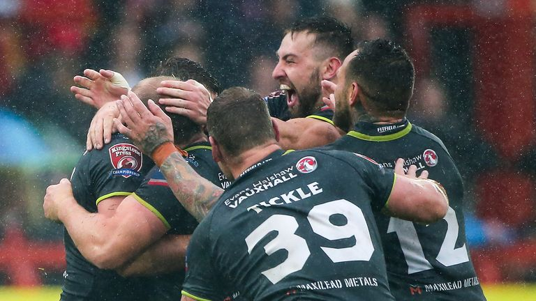 Leigh secured promotion to Super League in last season's Middle 8s