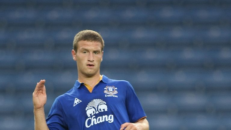 Mustafi had a taste of English football during his time at Everton