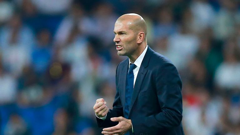 Zinedine Zidane's side have drawn four games in a row
