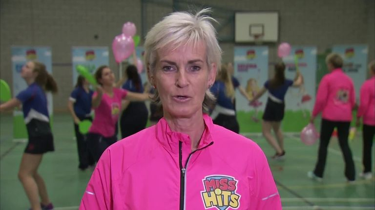 Judy Murray gets an OBE for services to tennis