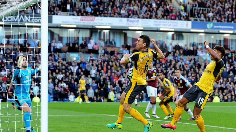 Arsenal grabbed their winner in the 93rd minute at Turf Moor