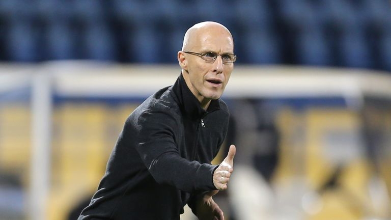 Bradley during his time as Egypt coach