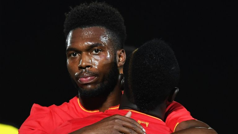 Daniel Sturridge may be fit to be involved for Liverpool