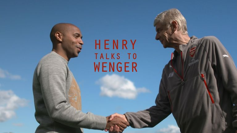 Thierry Henry met Arsene Wenger to discuss his 20 years at Arsenal