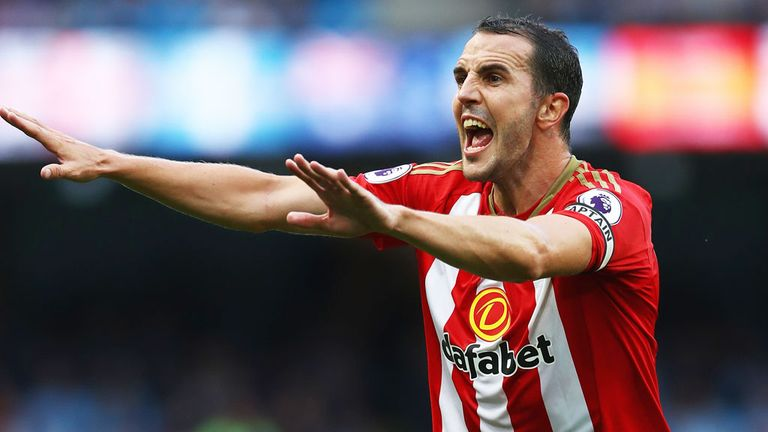 John O'Shea and Sunderland were relegated from the top flight last season