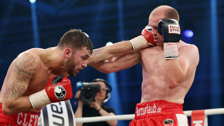 Nathan Cleverly and Juergen Braehmer traded clean blows for six rounds