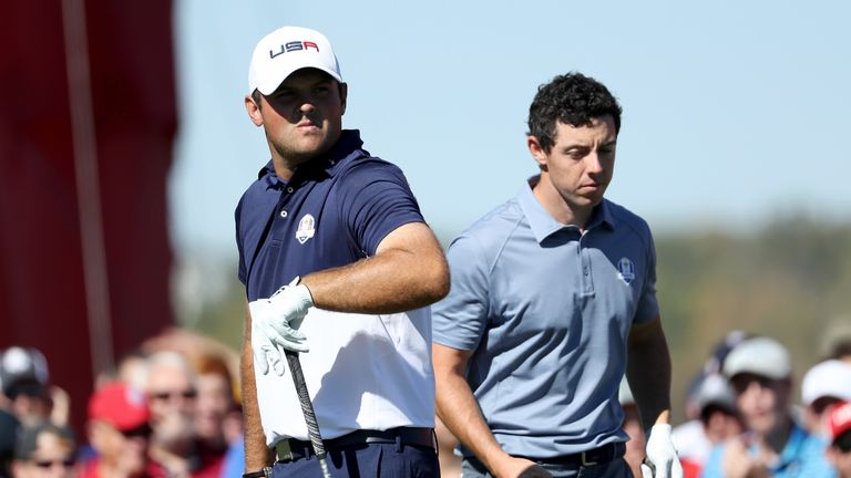 Patrick Reed and Rory McIlroy went toe to toe on Sunday