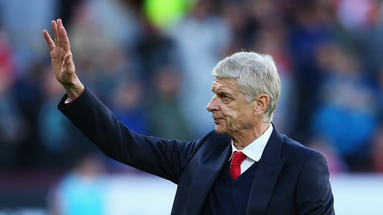 Wenger has been in charge of Arsenal for 20 years