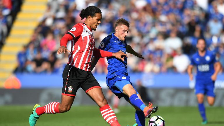 Van Dijk has the strength and pace to cope with all types of strikers