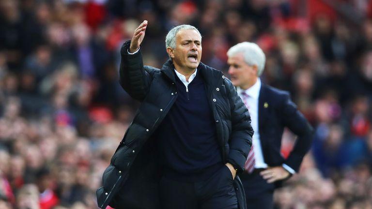 Jose Mourinho believes his side deserved to thrash Stoke on Sunday