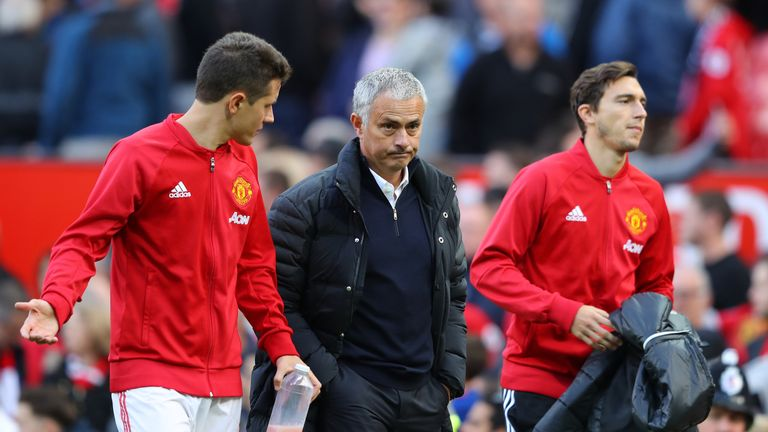 Mourinho has won four of his opening seven Premier League games as United boss