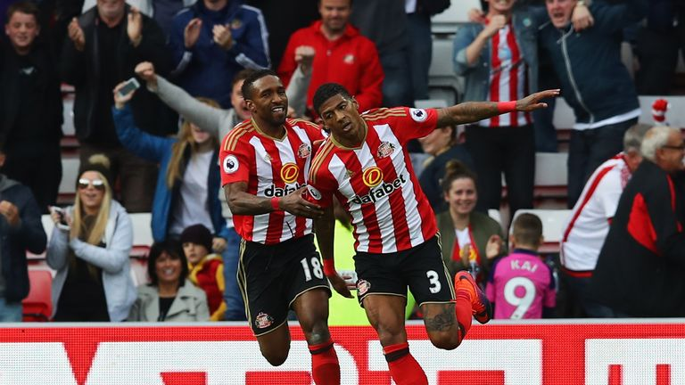 Van Aanholt has scored three goals this season for Sunderland and made 95 appearances for the club overall