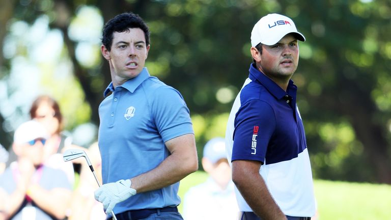 Rory McIlroy's singles clash with Patrick Reed at the Ryder Cup was packed full of emotion
