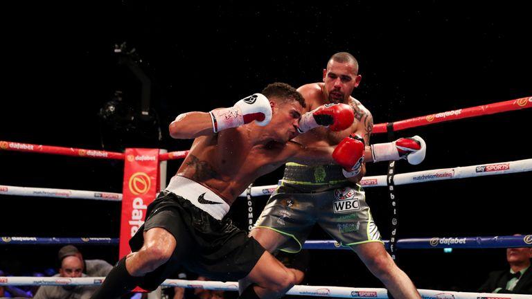Ogogo was below-par throughout his eight round defeat against Craig Cunningham