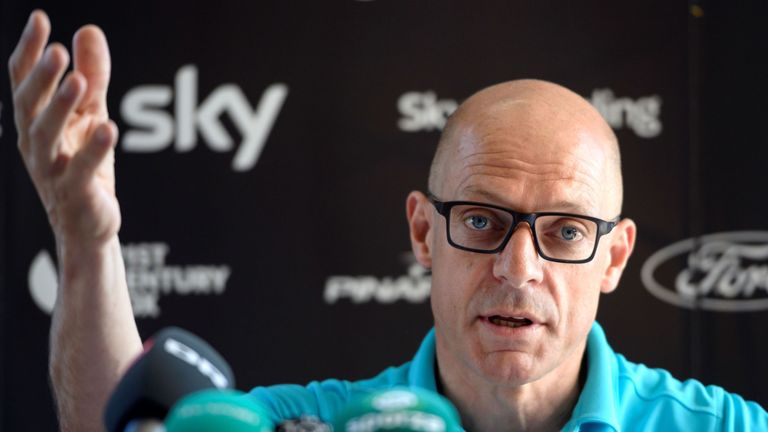 Sir Dave Brailsford is confident Chris Froome followed the team's medical guidance