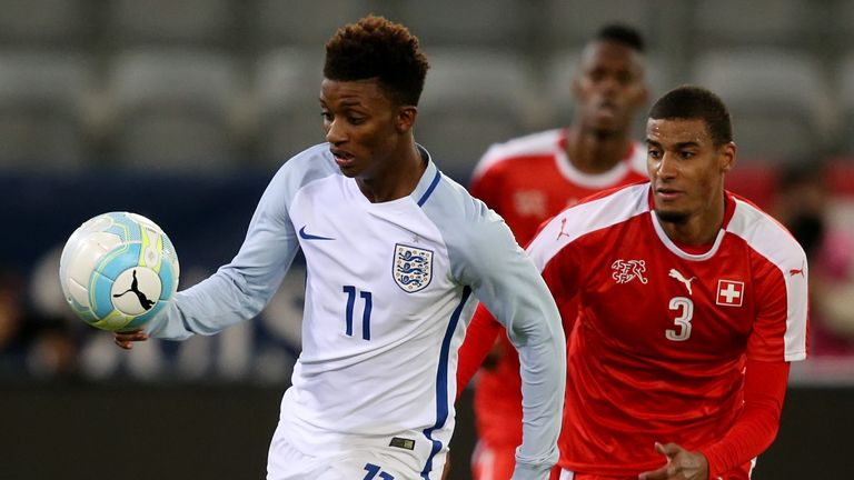 Demarai Gray scored for England Under-21s as they beat Kazakhstan to qualify for Euro 2017