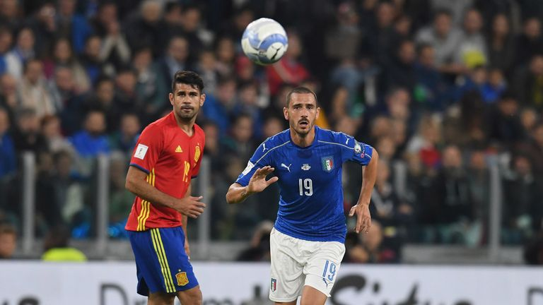 Spain and Italy are the top two in Group G