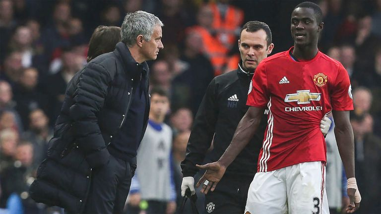 Jose Mourinho will lose Eric Bailly to the African Nations Cup in January