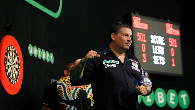 Gary Anderson remains on course for his first ever Grand Prix title