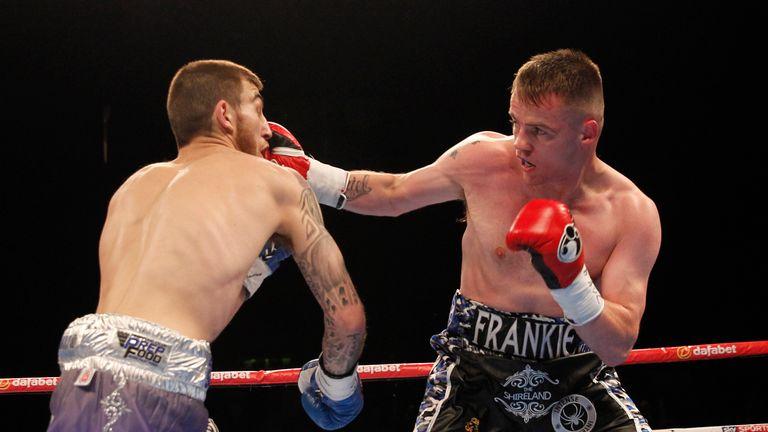 Frankie Gavin lands on Sam Eggington in a thrilling  battle