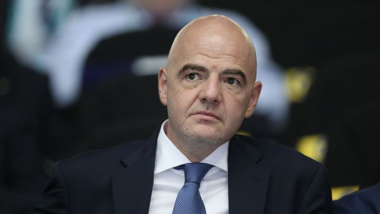 Gianni Infantino has changed his mind on merit of video referees