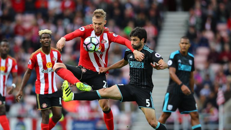 Sunderland could be without Jan Kirchhoff for a month
