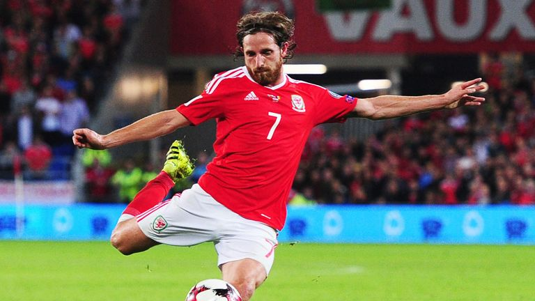 Allen scored for Wales in a recent World Cup Qualifier against Moldova