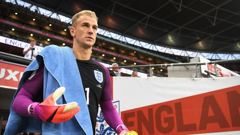 Joe Hart has retained his place in the England squad following his move to Serie A