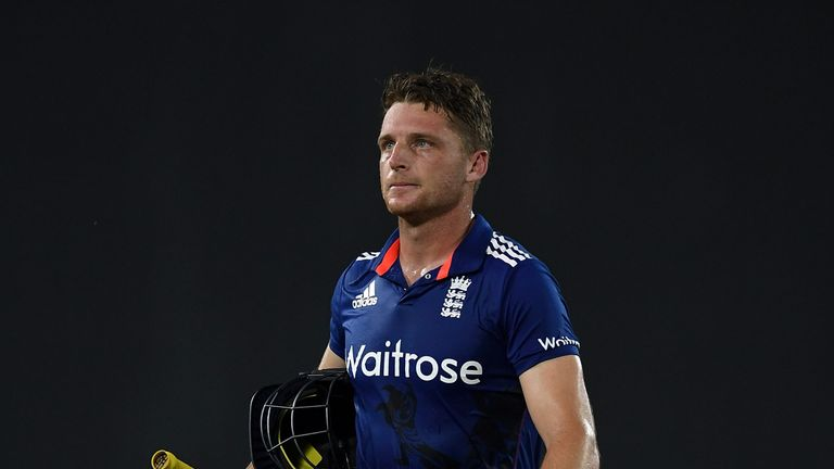 Jos Buttler was upset after his dismissal at the weekend