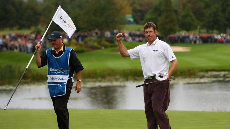 Westwood won the British Masters at The Belfry in 2007