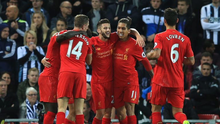 A 2-1 win over West Brom last Saturday saw Liverpool pull level on points with Man City at the top of the table