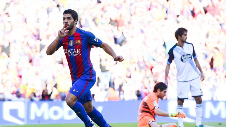Luis Suarez now has six La Liga goals and three assists