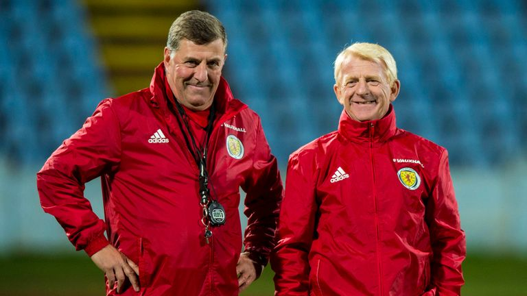 Scotland assistant Mark McGhee refuses to comment on ...