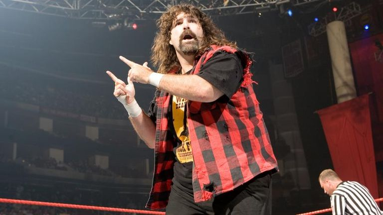 Mick Foley returns to the ring on Sunday night as a special guest referee at Hell In A Cell