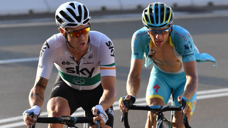 Nicolas Roche (left) believes Contador has more to give