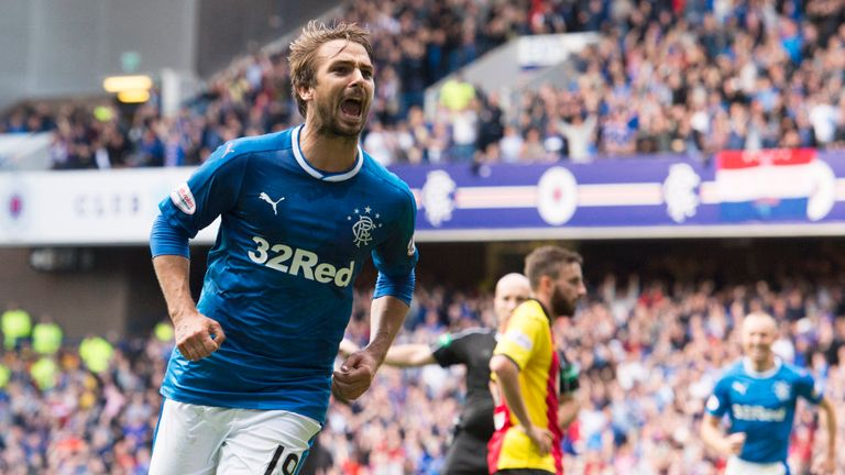 Niko Kranjcar will be back in the Rangers squad on Wednesday night