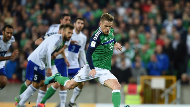 Davis is looking forward to the World Cup qualifying play-off match with Switzerland