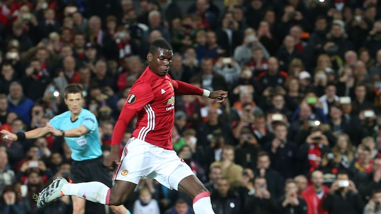 Paul Pogba has also been named in the 23-man shortlist for the award